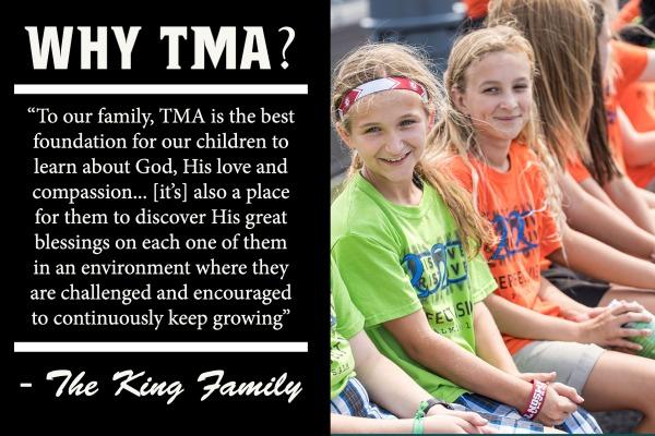 Why TMA Middle School