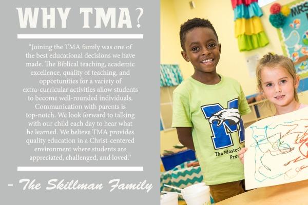 Why TMA Preschool